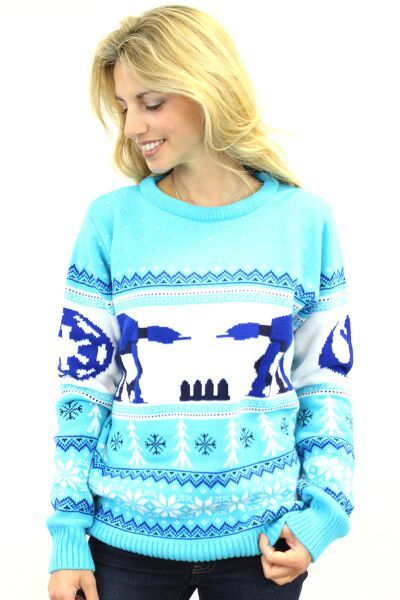 Star Wars AT-AT Ladies Christmas Sweater Jumper