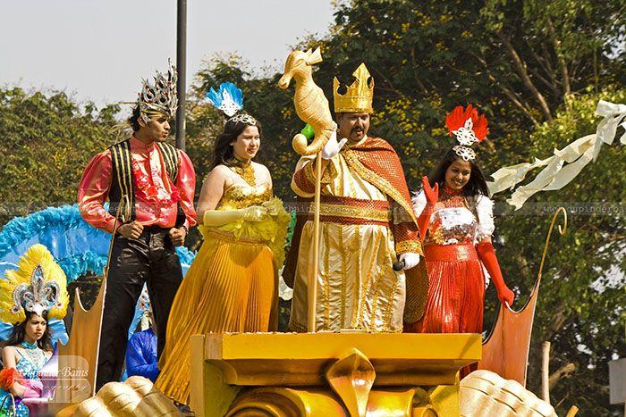 King Momo at Goa Carnival