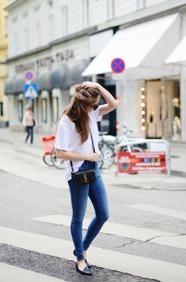 Jestem Kasia: Alexander Wang coat   F&F jeans   F&F t-shirt   Celine sunglasses   HEGO's shoes   Saint Laurent bag