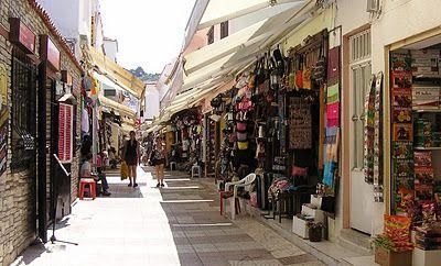 Kusadasi, Turkey. Erg leuk om te winkelen. Ook items van Turks fabricaat zijn er nog te vinden