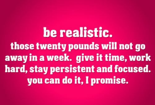 I don't want to be REALISTIC!!!!!