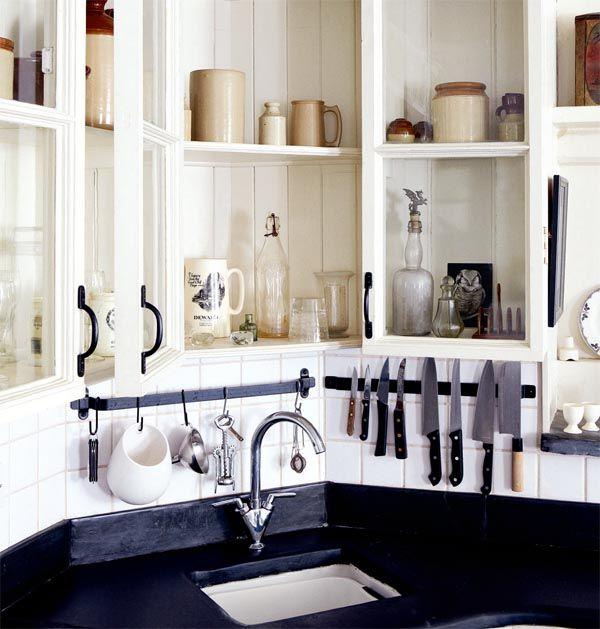 17 migliori idee su Mobiletti Di Cucina su Pinterest  Scaffali per ...