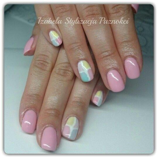 Hybryda  nails paznokcie hybrydowe