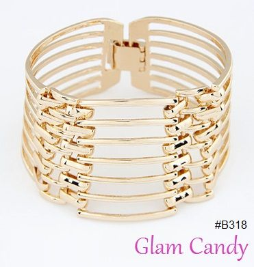 Shop: www.worldofglamoursa.com #GlamCandy #gold #cuff