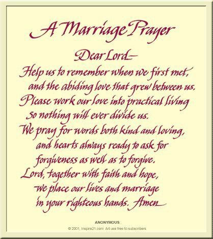 Best 25 Prayer For Married Couples Ideas On Pinterest