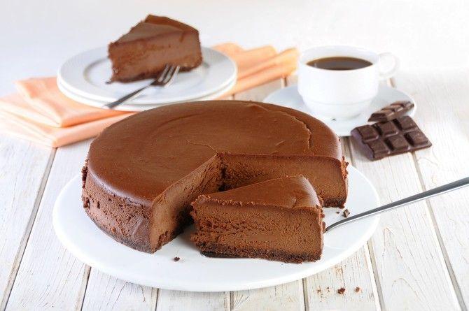 Sernik czekoladowy - VIDEO