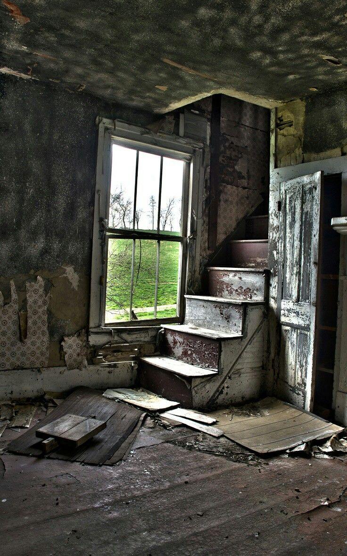картинки заброшенного дома внутри первых