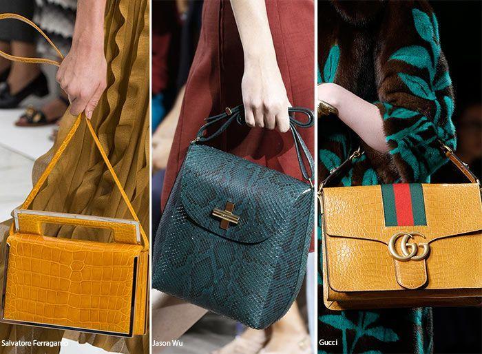 fa021035c9c Spring  Summer 2016 Handbag Trends  Reptile Skin Bags  bags  handbags   trends