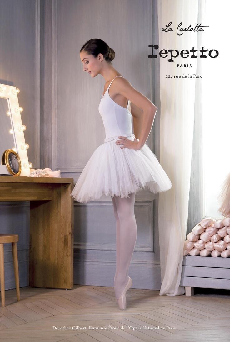 Nouveau visuel de la campagne Repetto. Avec Dorothée Gilbert, Danseuse Étoile de l'Opéra National de Paris.  Photography by James Bort