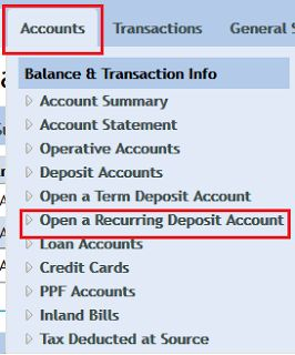 FINANCE guru SPEAKS! - Banking, Personal Finance, Investments, Mutual Funds: How To Open Online RD Account In Vijaya Bank Throu...