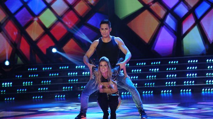 María del Cerro y Nicolás Villalba se lucieron en la cumbia pop