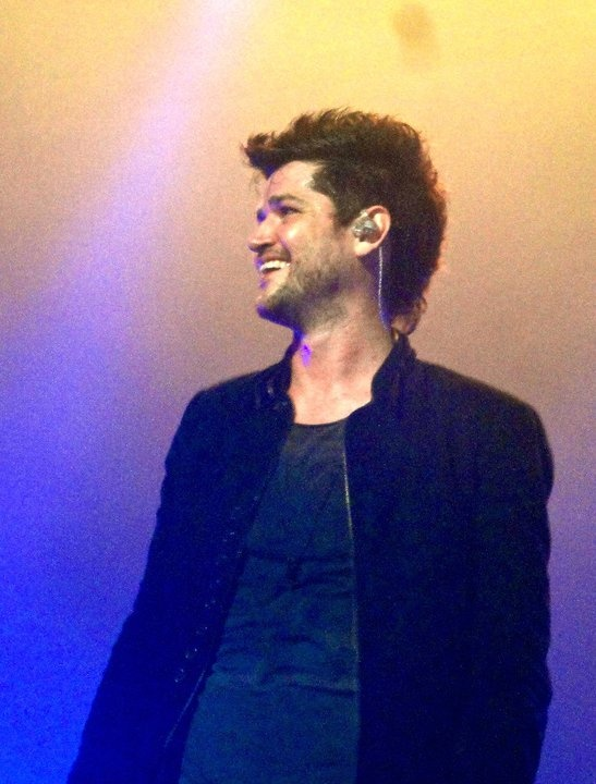 Danny O'Donoghue of The Script, took this picture last night. He's beautiful :]