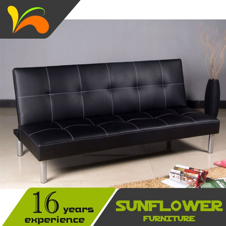 Cheap Wooden Bedroom Leather Sofa Bed