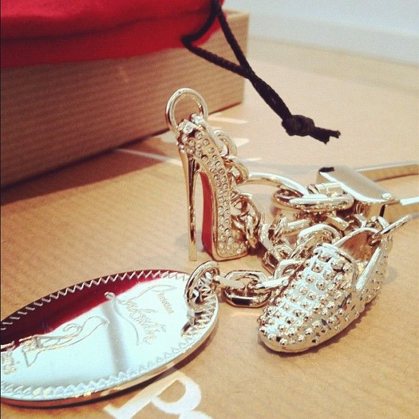 billidollarbaby: Christian Louboutin Keychain from the 20 ans Capsule  Collection