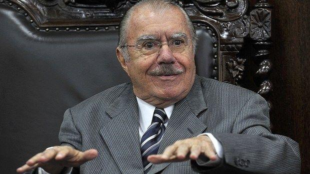Com quase 88 anos, Sarney se consolida como o homem forte do governo Temer