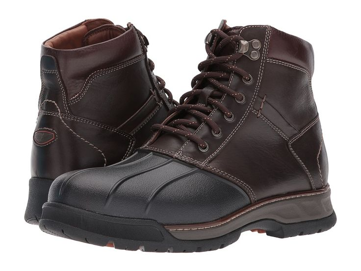 Johnston & Murphy XC4(r) Waterproof Thompson Duck Boot Men's Boots Moss Brown Waterproof Full Grain