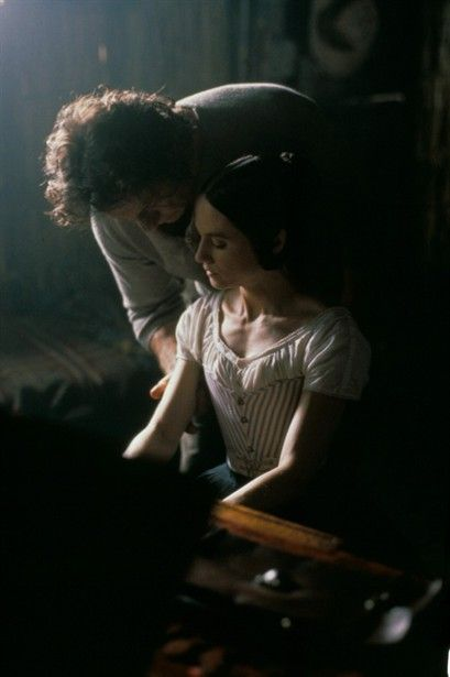 "Harvey Keitel and Holly Hunter in Jane Campion's Academy Award Winning Film for Best Picture: ""The Piano"" (1993)... intoxicating, mesmerizing, hauntingly romantic and beautifully filmed."