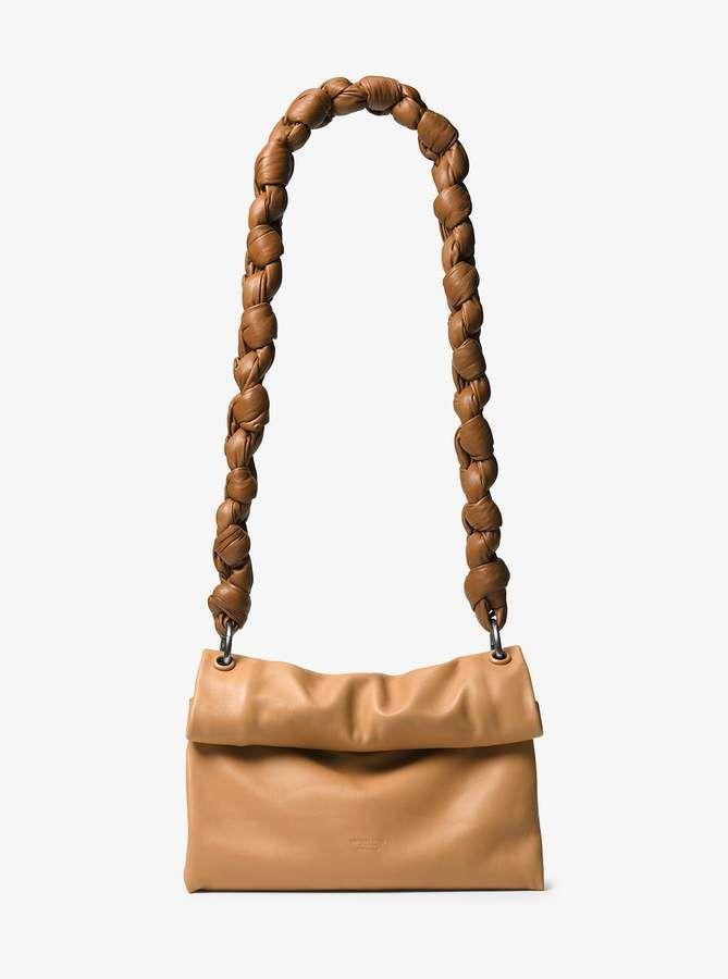 54977b75f597 Michael Kors Collection Kiki Medium Leather Shoulder Bag | the bag ...