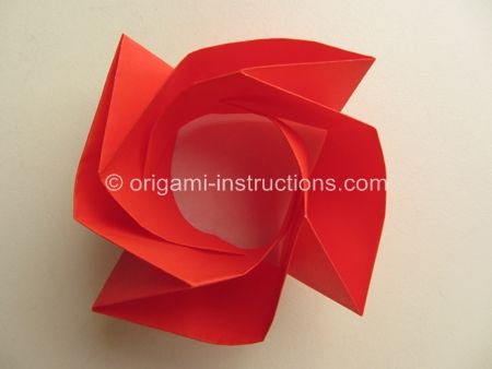 origami rose instructions step by step