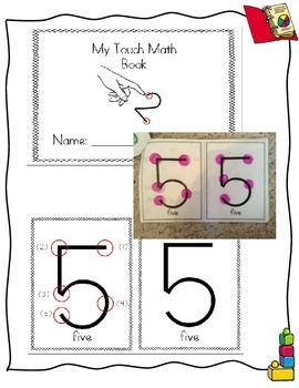 Touch Math Do-A-Dot Art Mini-Book