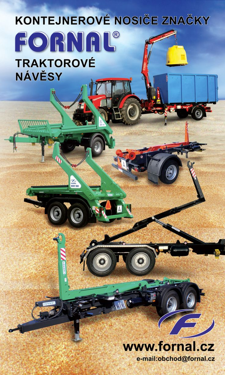 Traktoranhänger – Containerträger » Fornal