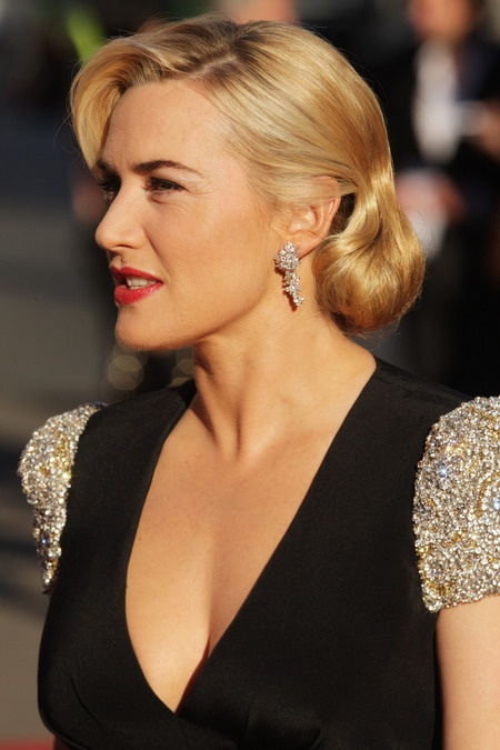 Kate Winslet at the World Premiere of Titanic 3D. March 27, 2012