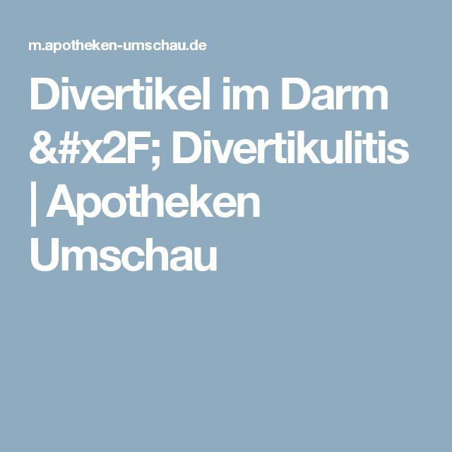 Divertikel im Darm / Divertikulitis   Apotheken Umschau