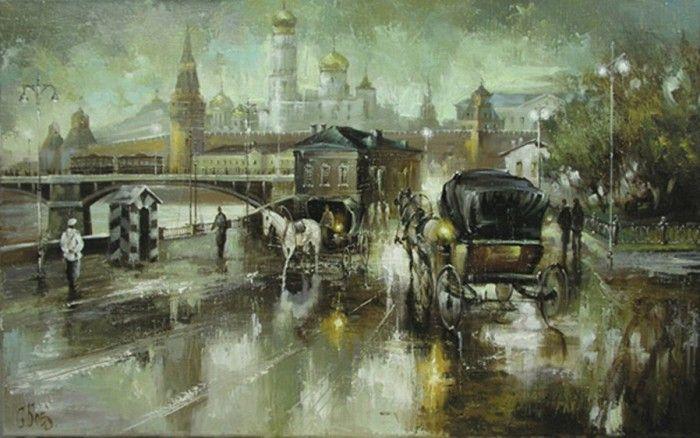пейзажи художника Сергея Боева – 04