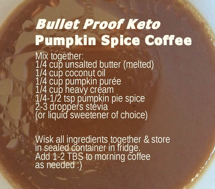Bullet Proof Pumpkin Spice Latte Coffee  Keto Coffee Recipe  LCHF  Low Carb High Fat Pumpkin Coffee BulletProof Coffee Recipe