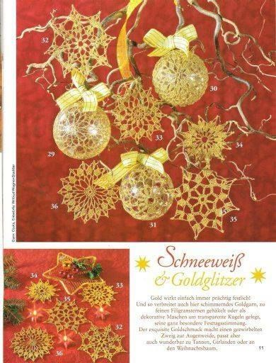 Decorazioni Natalizie Christmas Pinterest Crochet Motif Natale And
