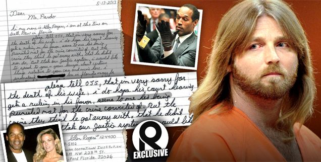 What If O.J. Didn't Do It? Serial Killer Renews Claims He Killed Simpson's Wife Nicole -- Read The Bombshell Prison Letter