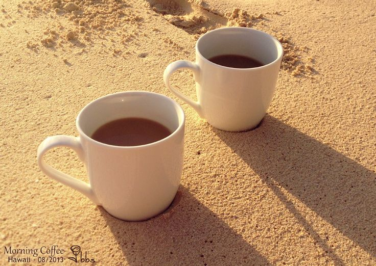morning coffee and beach pictures - Google Search