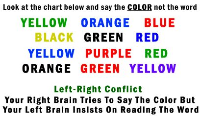 Optical Illusions Brain Teasers | Cool Optical Illusions - Say the Colors!