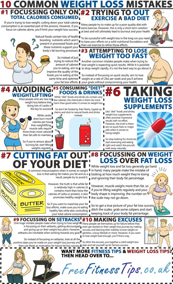 10 Common Weight Loss Mistakes #provestra