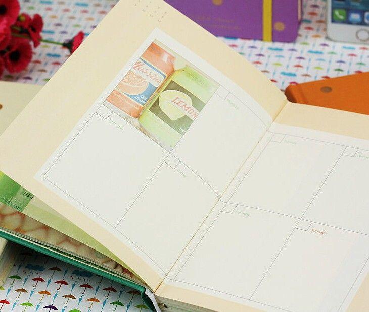 Мило конфеты цвет красивая париж планировщик книга ежемесячно план повязки дневник 13 * 18 см 136 красочные страницы 4 шт./лот творческих канцелярских купить на AliExpress