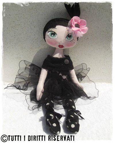 bambola Louise  di MissMollyCountry su Etsy