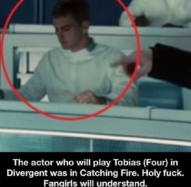 The actor that plays Tobias (Four) [Theo James], in Divergent, was a gamemaker in Catching Fire | Theo James-HOT! | Pinterest | Divergent, Hunger Games and The…