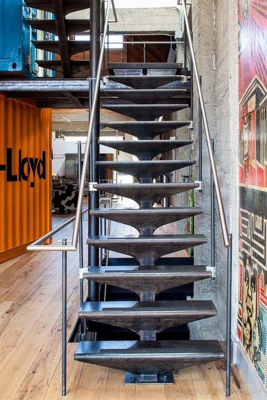 stairs sf loft in san francisco california by wardell sagan projekt