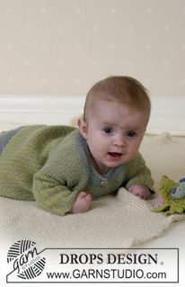 BabyDROPS 14-27 - DROPS Jacket, pants, soft toy and blanket in Alpaca - Free pattern by DROPS Design
