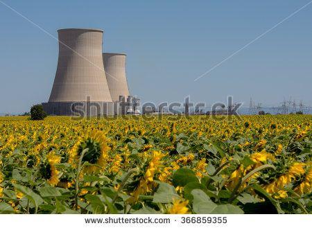 Power Station on Sunflower Farm