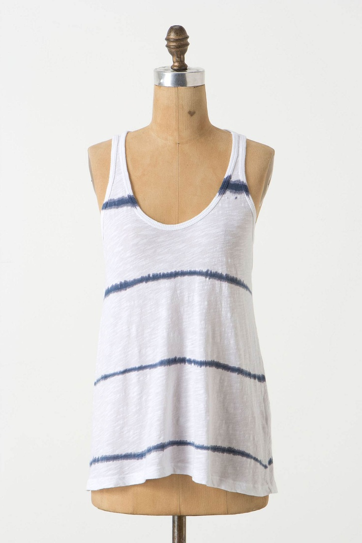 Anthropologie Kanoko Striped Tank...bought this today for the forgiving flare at the bottom.