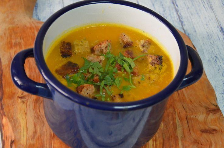 Zupa krem dyniowo-marchewkowy