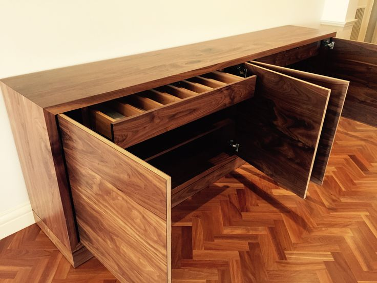 American Walnut timber sideboard. www.christiancolefurniture.com.au  #timber #wooden #sideboard #cabinet #furniture