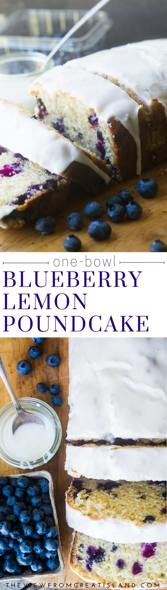 Blueberry Lemon Pound Cake is a quick and easy one bowl recipe that showcases one of my favorite flavor combinations for spring and summer! #blueberry #lemon #poundcake #dessert #brunch #quickbread #cake #poundcakerecipe #breakfast  via @https://www.pinterest.com/slmoran21/