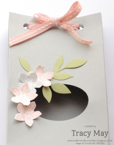 Stampin' Up! UK - Spring Easter Bunny Treat Bag Video