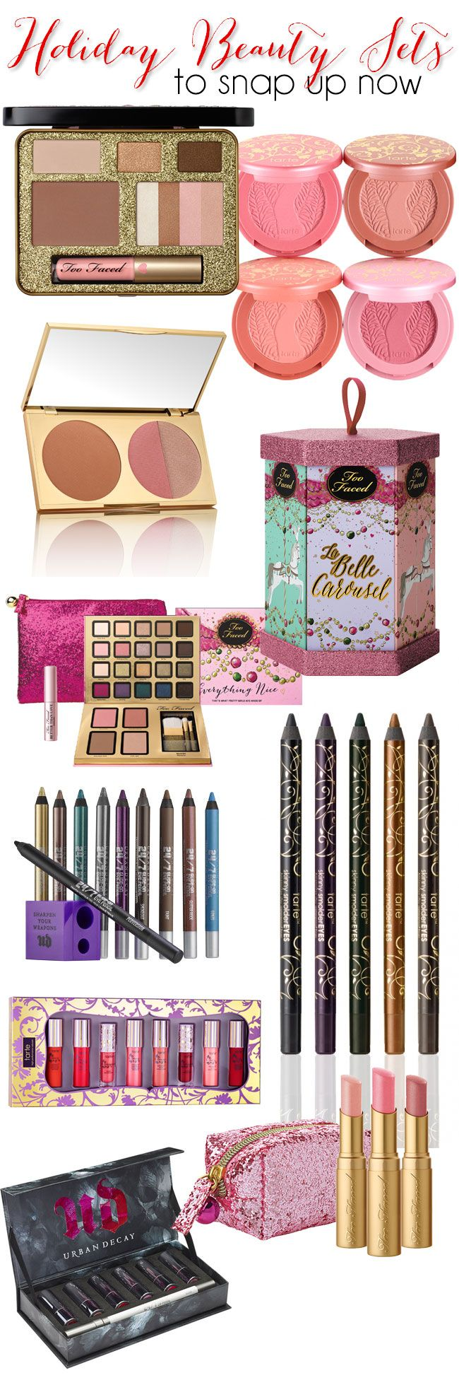 Early Holiday #makeup Gift Sets To Snap Up Now!