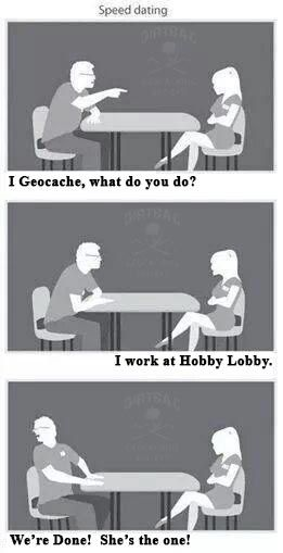 Geocaching Speed Dating