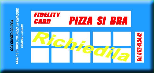 Pizza Si Bra - PROMOZIONI