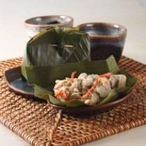 BOTOK JAMUR PAYUNG http://www.sajiansedap.com/mobile/detail/3216/botok-jamur-payung
