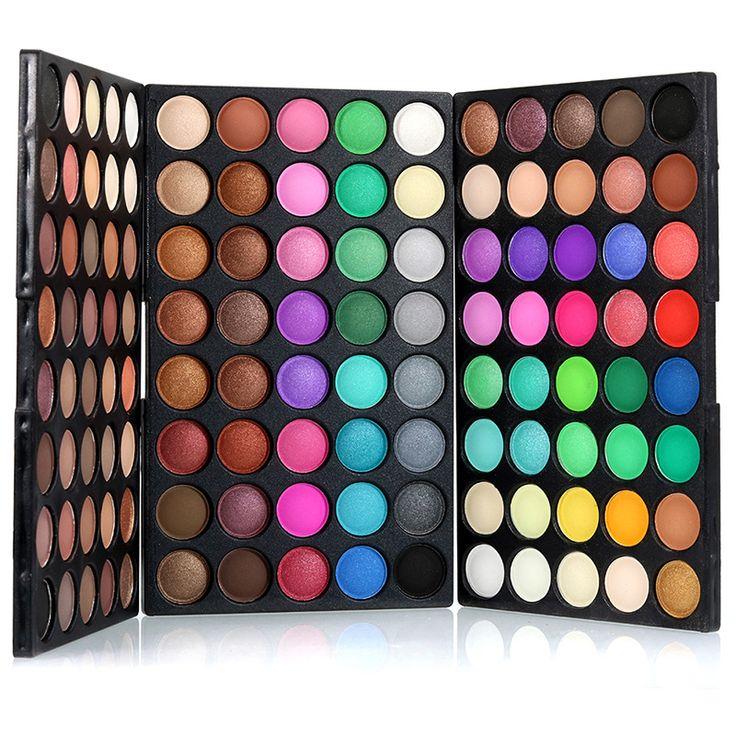 2017 Shimmer Matte Eyeshadow Palette HighLight Powder Waterproof Lasting Cosmetics Set Makeup Beauty Eye shadow I214 #Affiliate